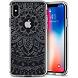 Spigen Liquid Crystal iPhone X Case with Slim Protection and Premium TPU for Apple iPhone X (2017) - Shine Crystal Clear