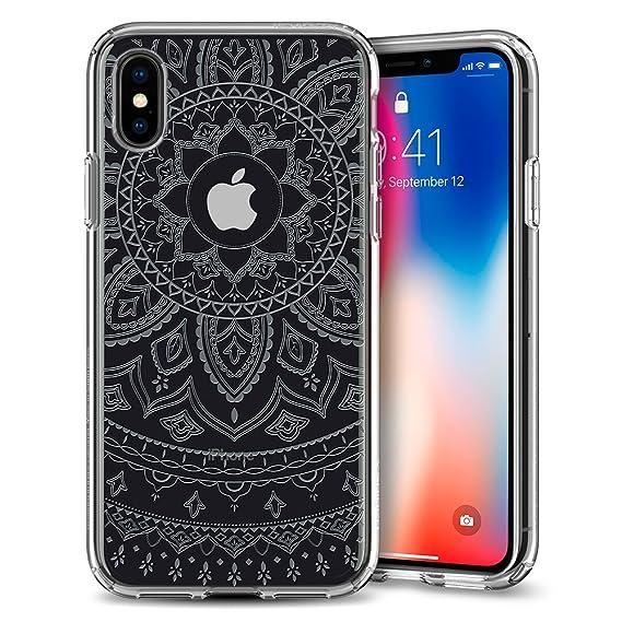 100% authentic f3fce 6f012 Spigen Liquid Crystal Designed for Apple iPhone Xs Case (2018) / Designed  for Apple iPhone X Case (2017) - Shine Crystal Clear