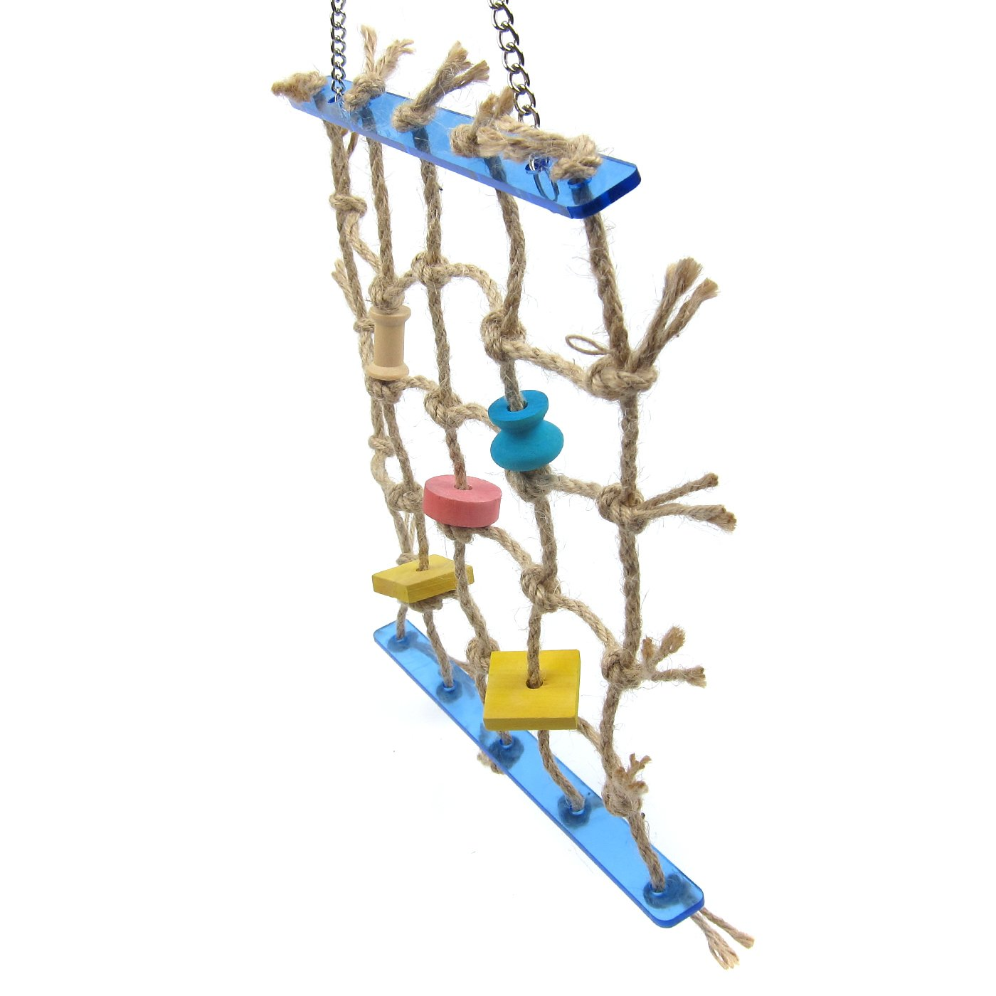Alfie Pet by Petoga Couture - Kaelin Hanging Rope Ladder Toy for Birds by Alfie (Image #3)