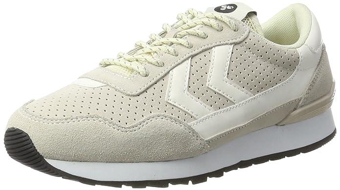 Unisex Adults Reflex Ii Sport Low-Top Sneakers, Grey/White Hummel