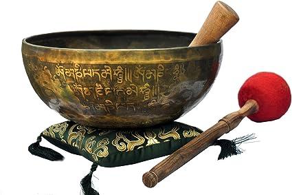 Handmade singing bowl-9.5 inches tibetan singing bowl from Nepal