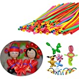 Generic 200pcs New Balloons Different Colours Latex 260Q Traditional Modelling