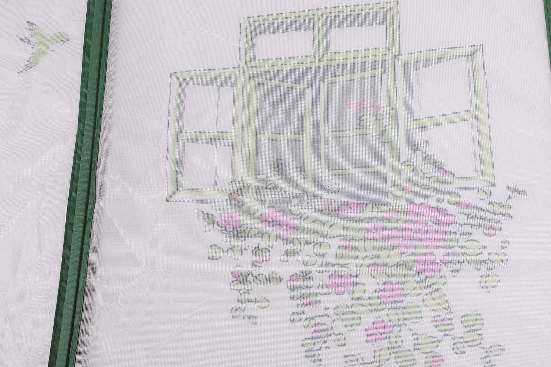 Kinderzimmer Magnetischer T/ürvorhang mit Blumenmuster Wohnzimmer Schiebet/üren Fliegengitter f/ür T/ür M/ückennetz f/ür Balkon gr/ün Insektenschutz