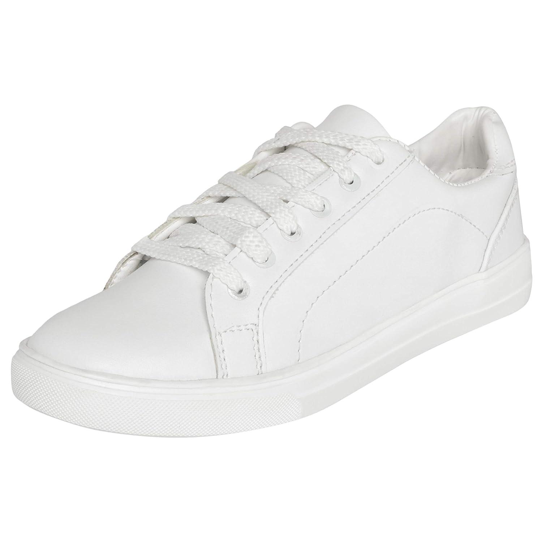0fecebb18fb6 SPORTSTAR Womens White Sneakers Shoes