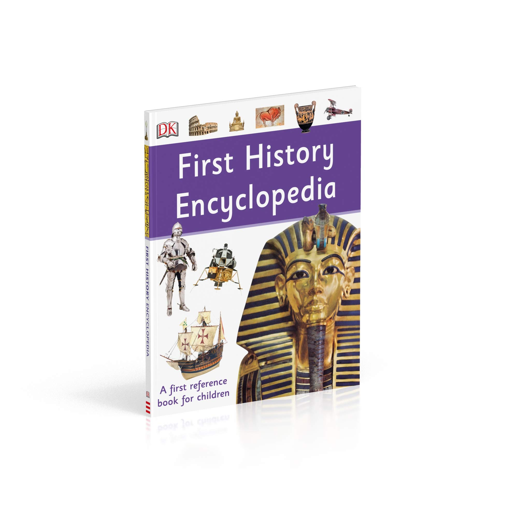 3d3da8259c2 First History Encyclopedia  A First Reference Book for Children   Amazon.co.uk  DK  9780241366943  Books