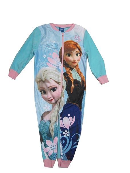 new style fd17c e43d1 Disney Frozen pigiama pigiama in pile tuta da ragazza nuovo ...