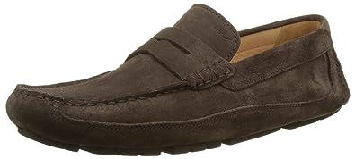 Geox U MELBOURNE Marron - Chaussures Mocassins Homme