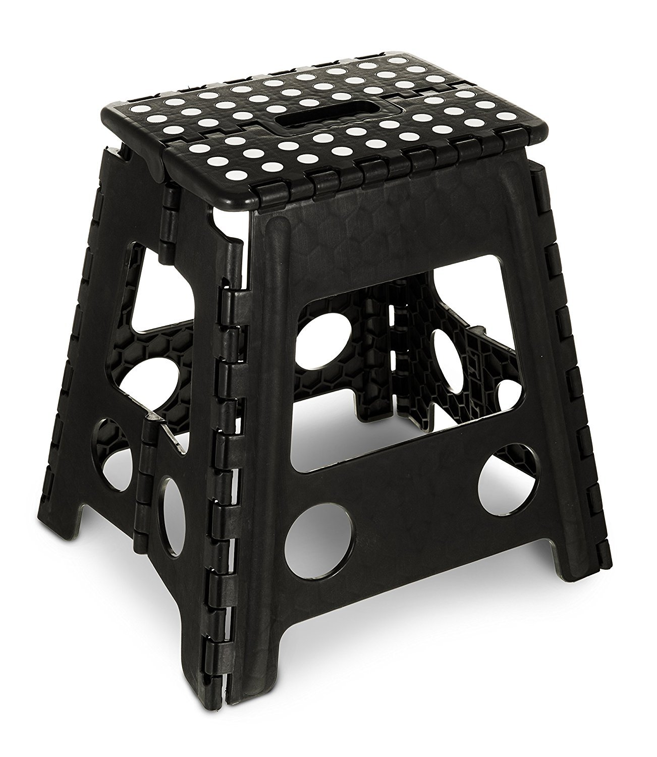 Fine Kikkerland Kkzz12 Bk Rhino Folding Step Stool Black Unemploymentrelief Wooden Chair Designs For Living Room Unemploymentrelieforg