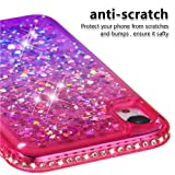 Tznzxm for iPhone XR Case New Glitter Floating
