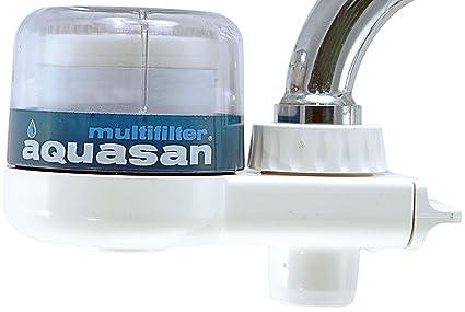Aquasan filtro acqua depuratore per rubinetto mod. compact made in