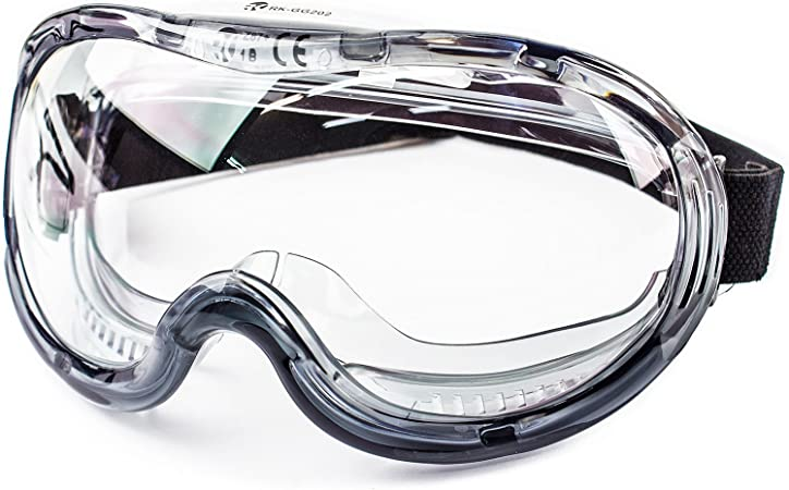 Onewell Clear Safety Eyewear Protective Glasses Goggles Safe Anti Splash Googles For Construction Laboratory Chemistry Class