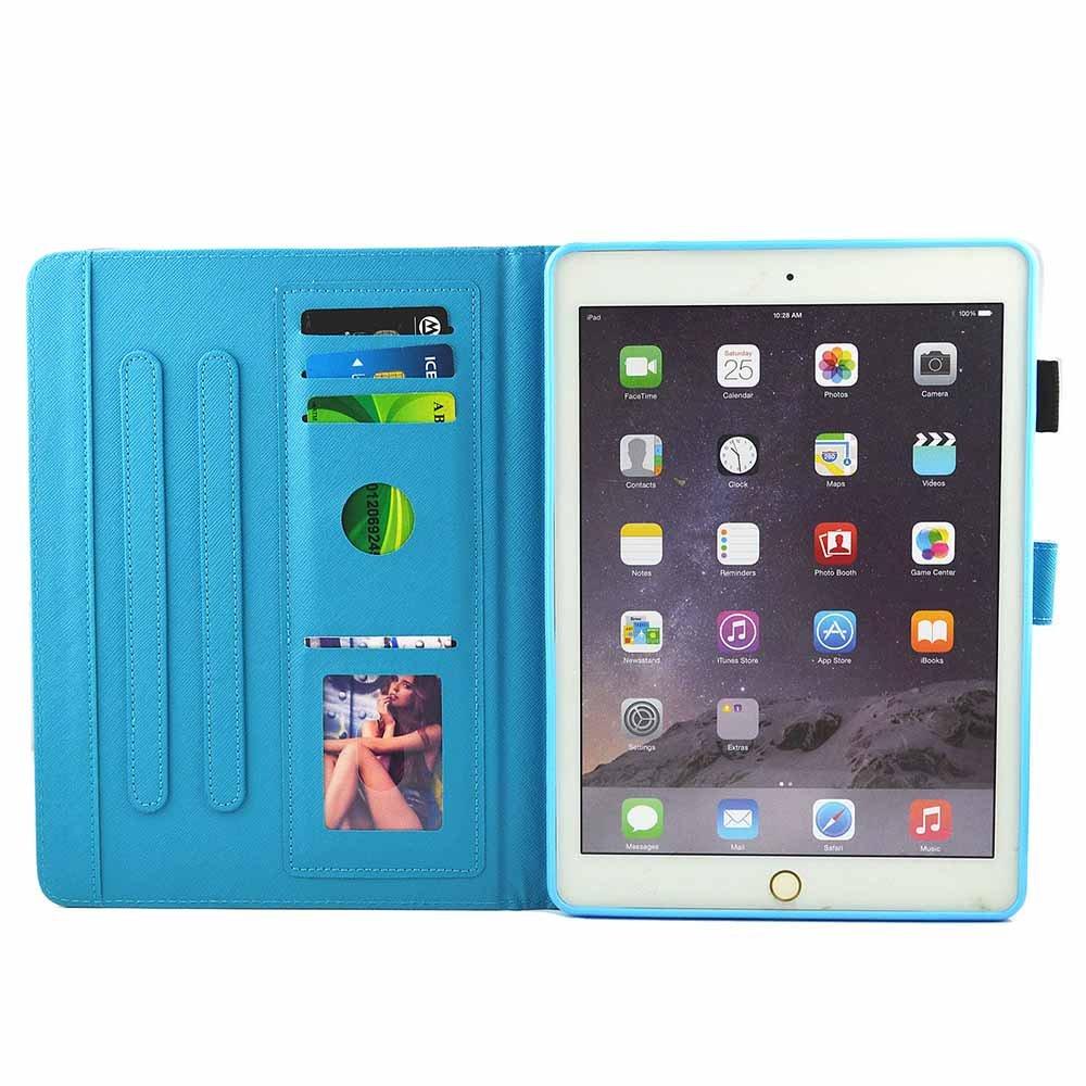 iPad Pro 10.5 /Étui Housse Billionn PU Cuir Protecteur Shell Stand Tablette Couverture Anti Choc Wallet Portefeuille Case Flip Cover Magn/étique Coque Etui pour Apple iPad Pro 10.5 Stylo tactile gratuit Belle rivi/ère de montagne