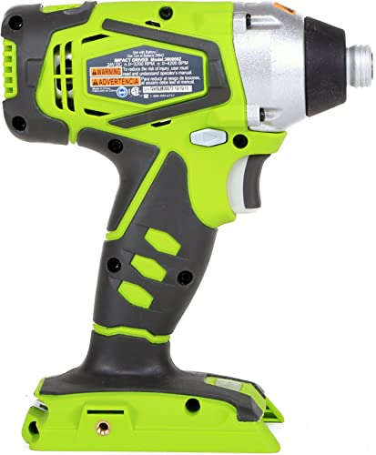 Greenworks 24V Cordless Impact Driver, Battery Not Included 37032A