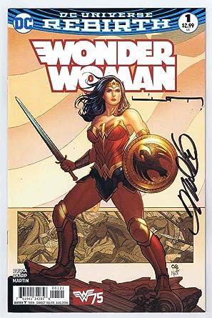 2af50c7a Wonder Woman #1 Near Mint 1st Print Signed w/COA Frank Cho/Liam ...