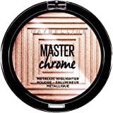 Maybelline New York Terra Viso Illuminante Master Chrome, Formula in Polvere, 050 Molten Rose, 9 gr