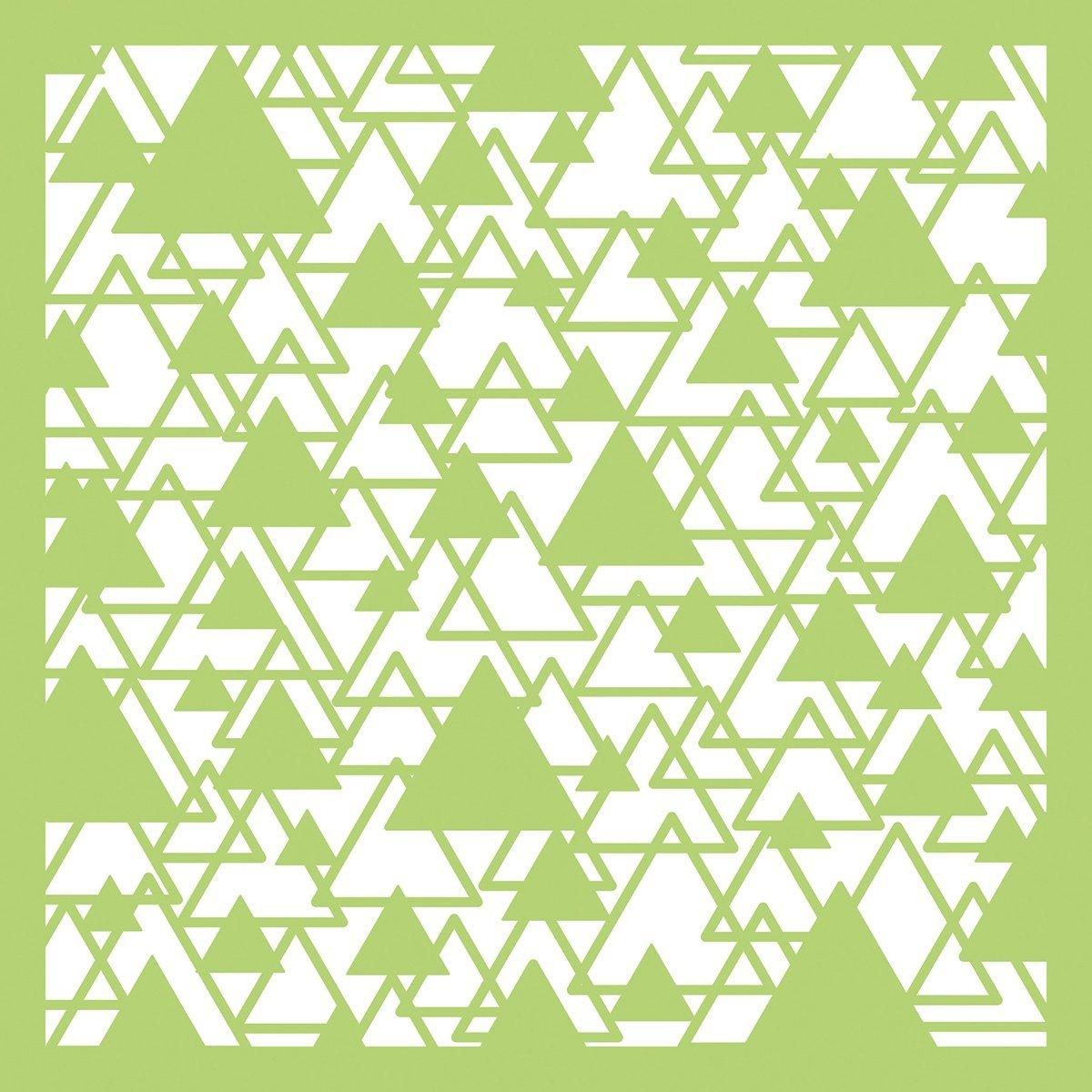 Kaisercraft Designer Template 6x6-abstract Triangle