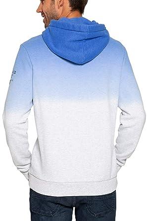 top design new release new style Camp David Hoodie Sweatshirt mit Farbverlauf