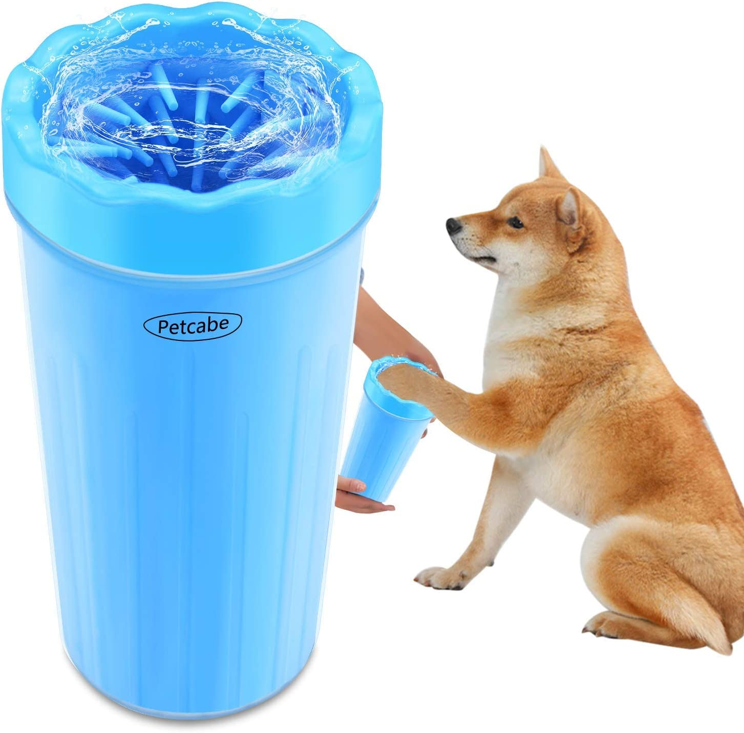 Petcabe Portable Dog Paw Cleaner Pet