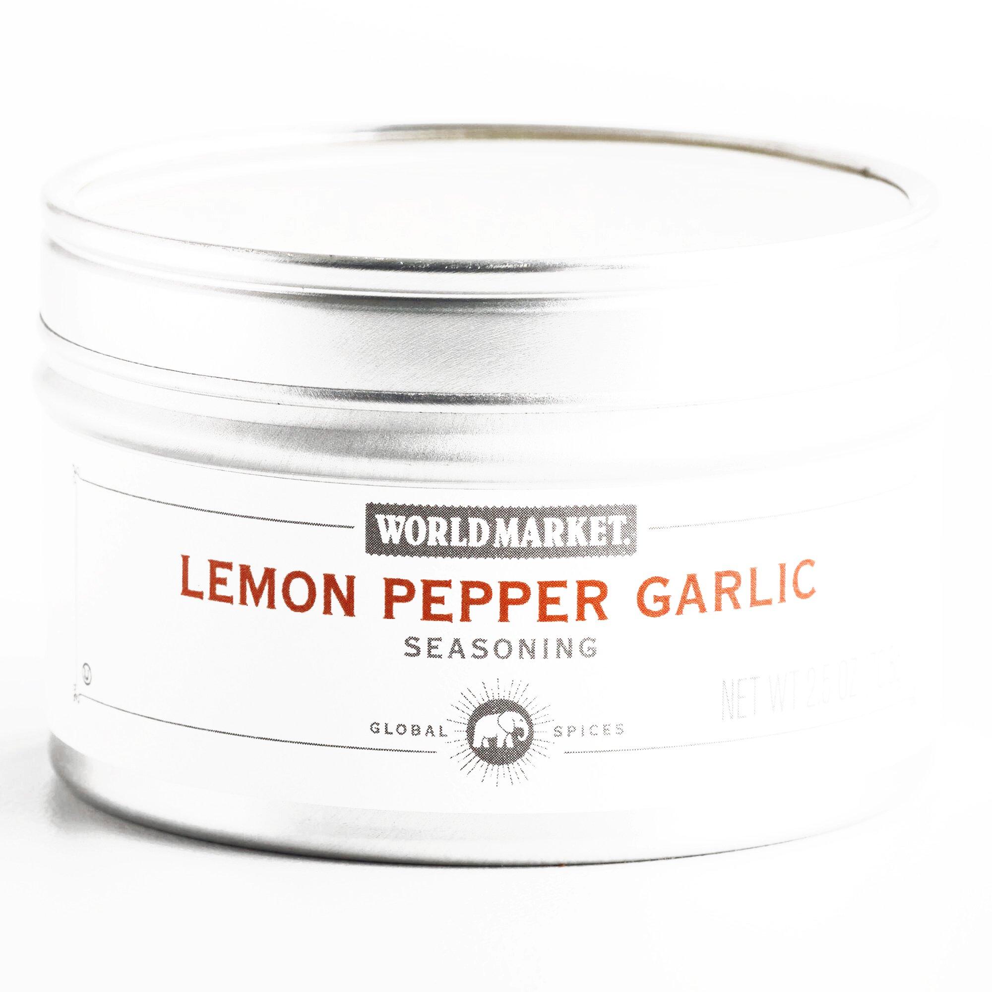 Lemon Pepper Seasoning 2.5 oz each (6 Items Per Order, not per case)
