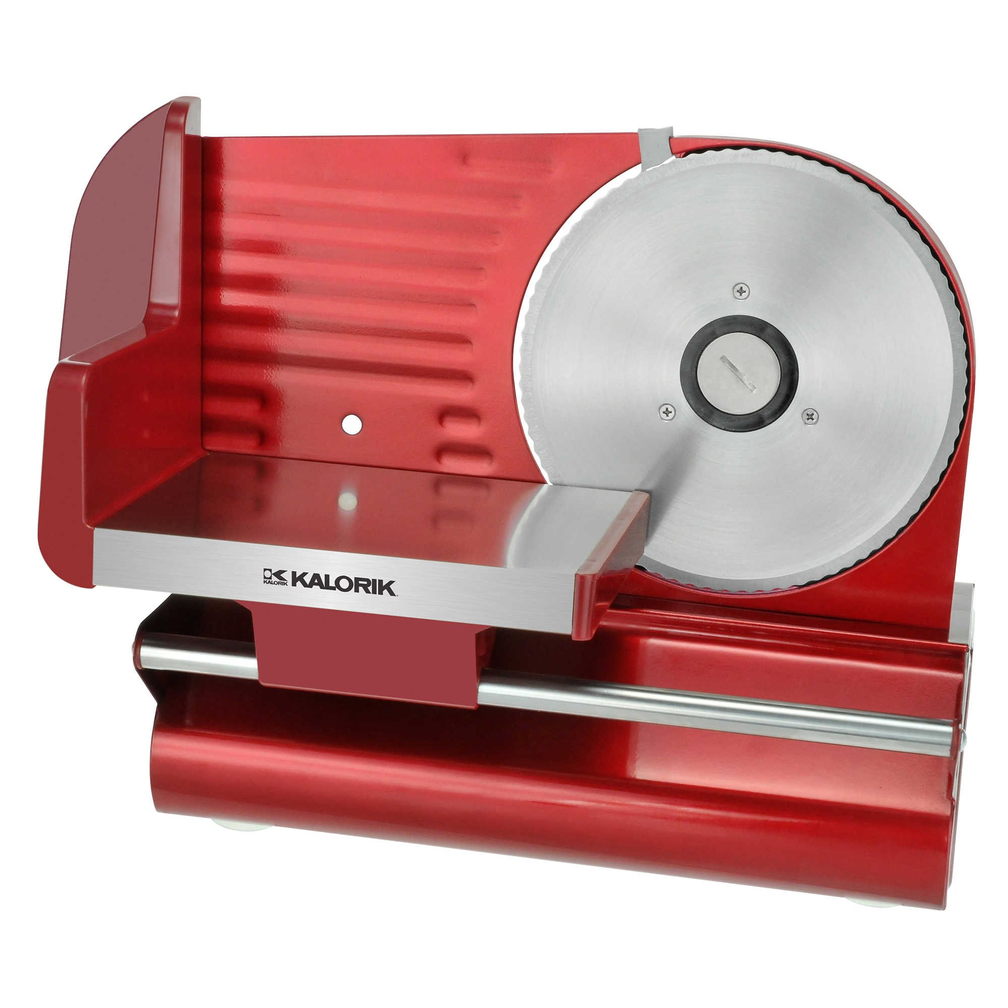 Kalorik Electric Food Slicer for Home Use in Red