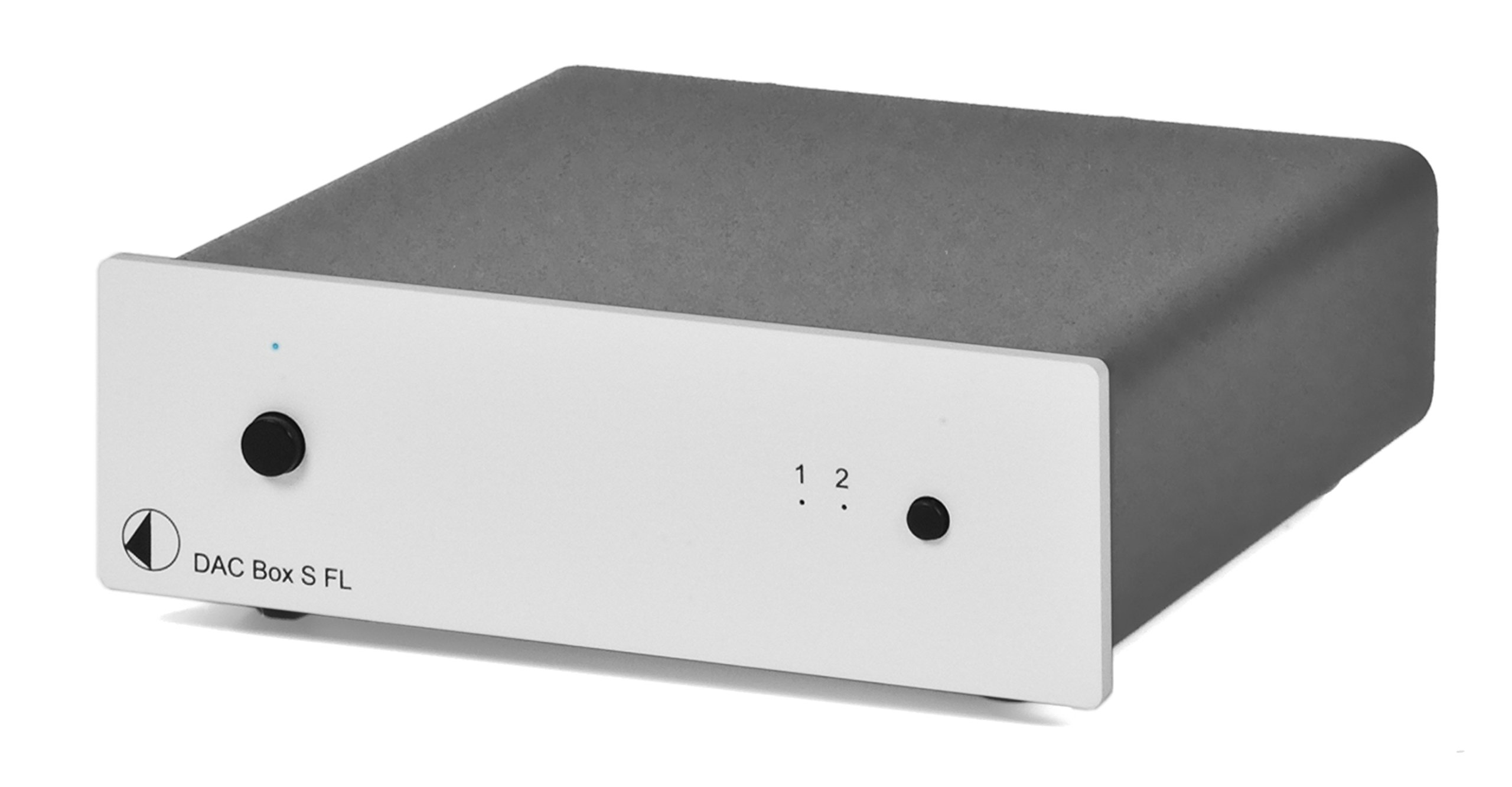 Pro-Ject DAC Box S FL (Silver) Digital to Analog Converter, Silver by Pro-Ject