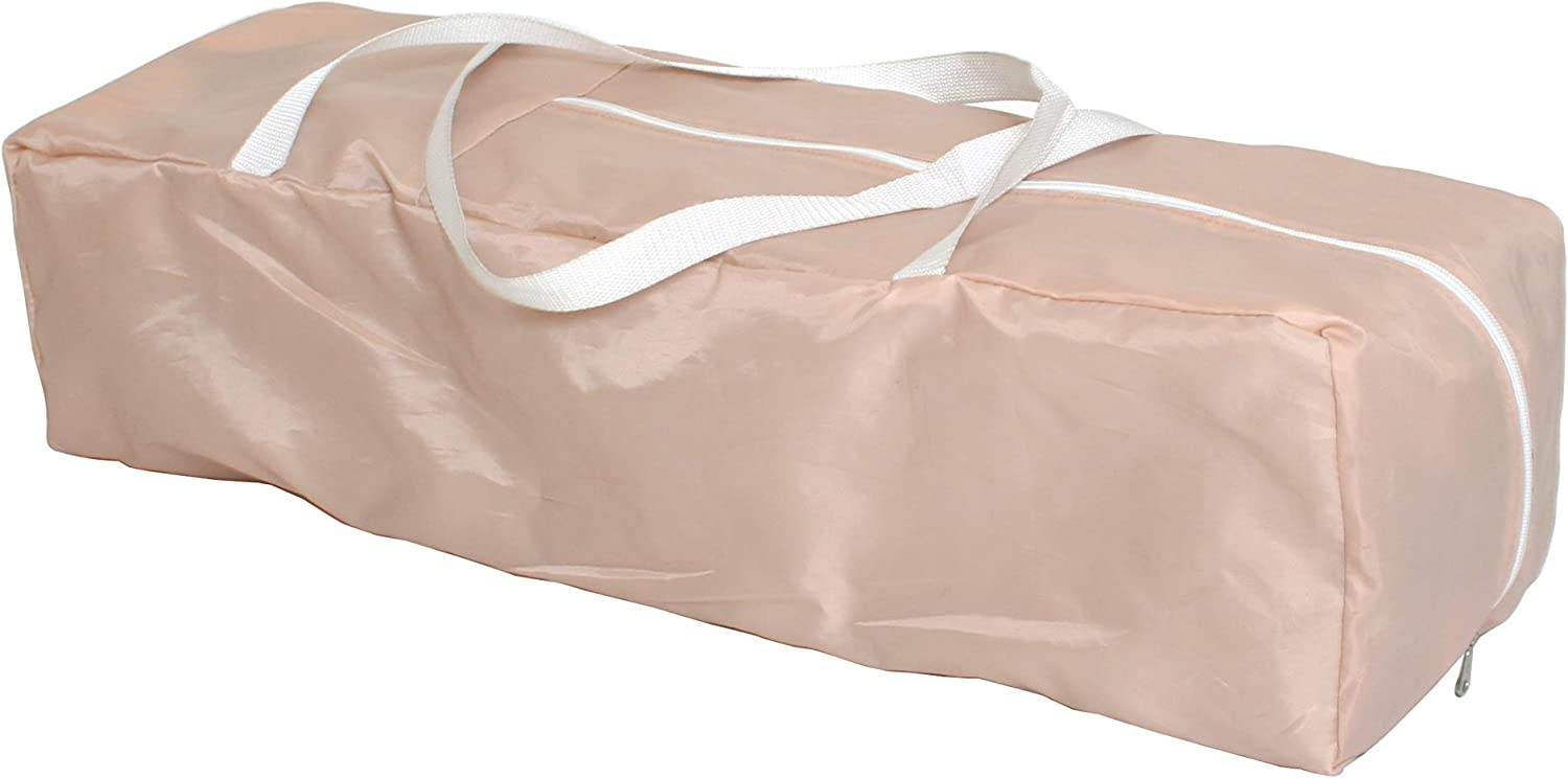 7.9 kg My Babiie Blush Quilted Travel Cot