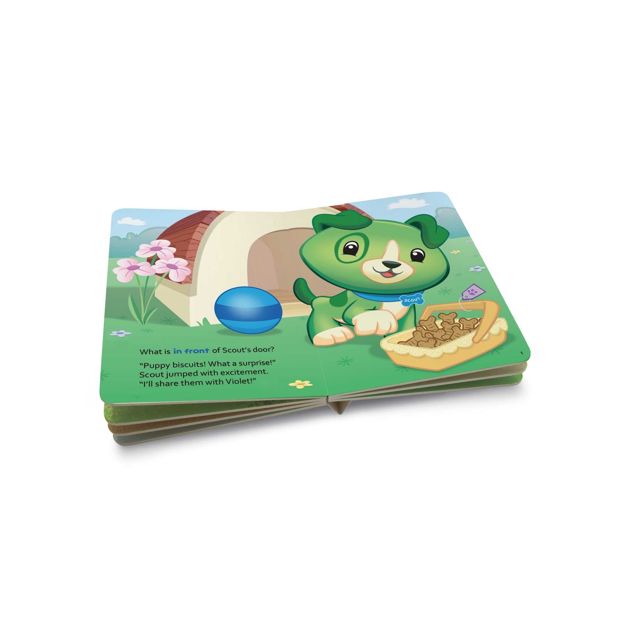 LeapFrog Tag Junior Book Scout And Friends: A Surprise for Scout (works with LeapReader Junior) by LeapFrog (Image #5)