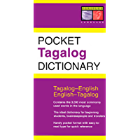 Pocket Tagalog Dictionary: Tagalog-English English-Tagalog (Periplus Pocket Dictionaries)
