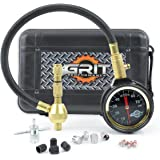 Grit Performance Rapid Tire Deflator Kit with PSI Tire Pressure Gauge + BONUS Chrome Caps & Valve Core Repair Tool | Quickly Deflate 4x4 Off Road Tires on Jeep, Truck, ATV, Motorcycle