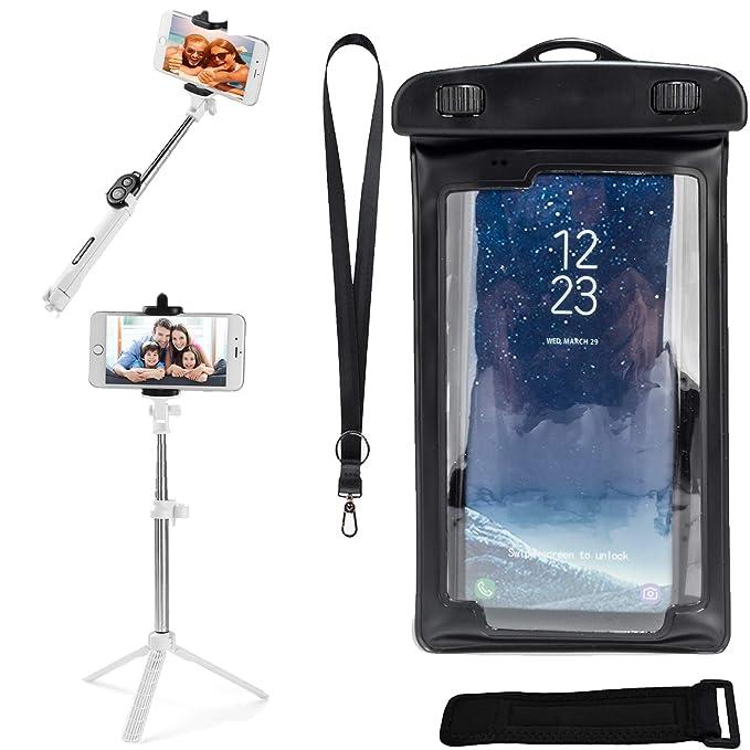 Amazon com: VG Case Selfie Photo Stick and Black Waterproof