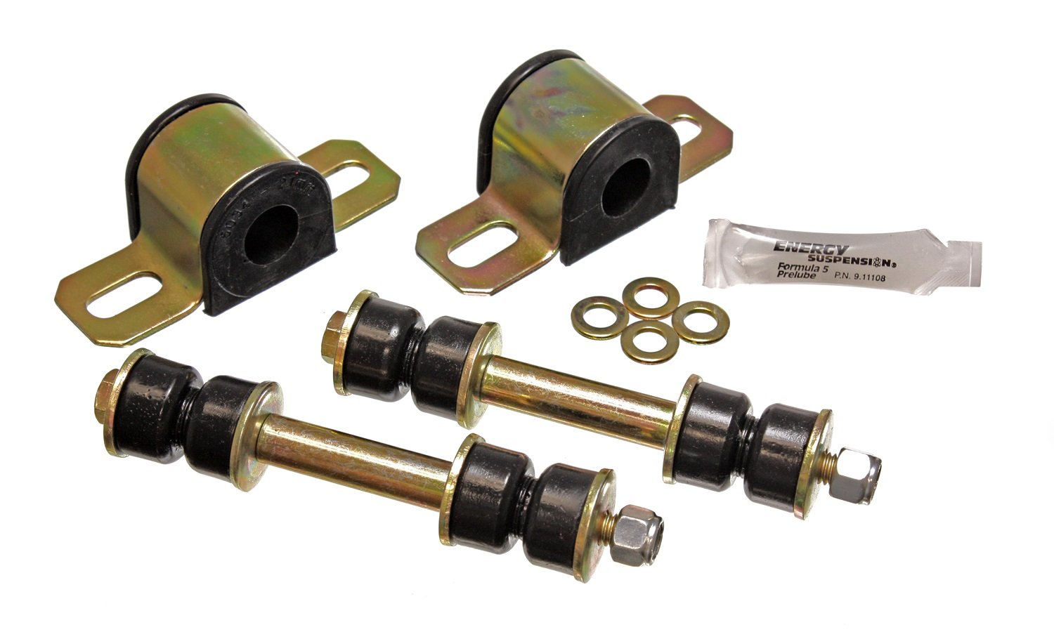 Energy Suspension 3.5146G Rear 23mm Stabilizer Bar Set for GM by Energy Suspension