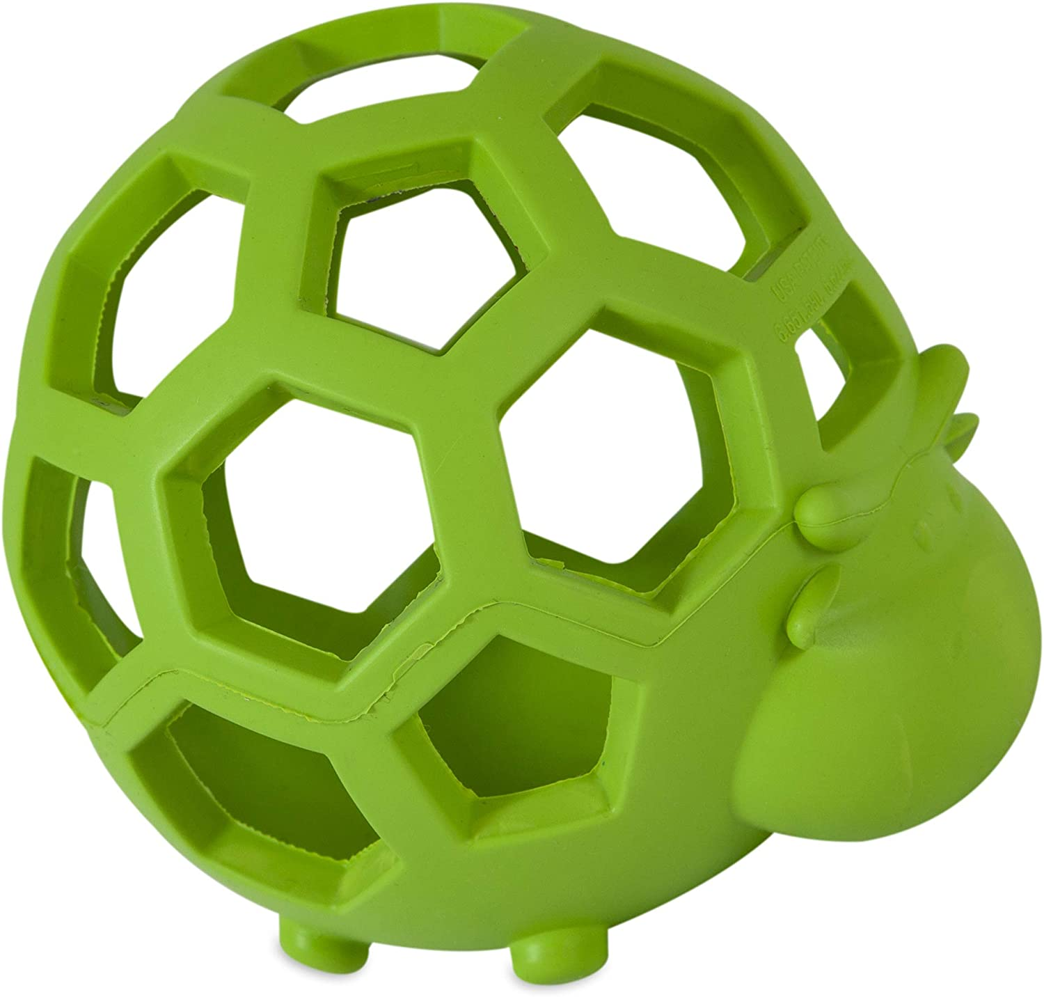 JW Pet Hol-ee Cow Dog Chew Puzzle Toy, Small