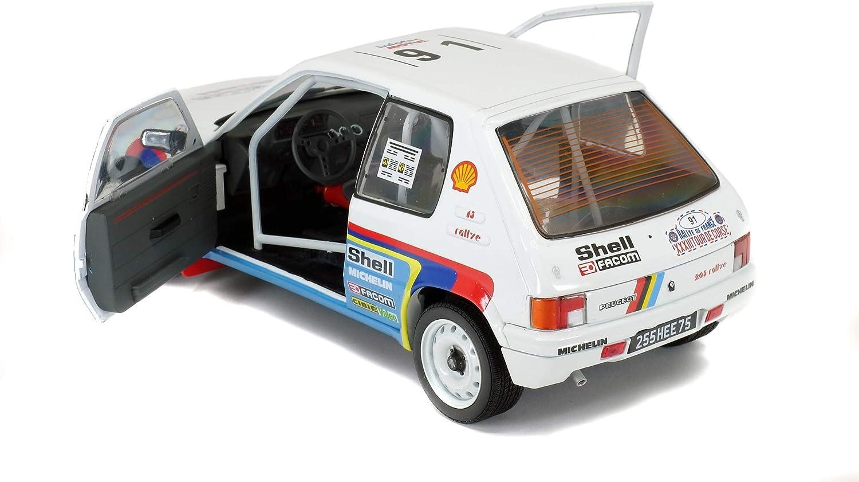S1801703 SOLIDO Peugeot 205 Rally #91 Tour de Corse 1989 1//18