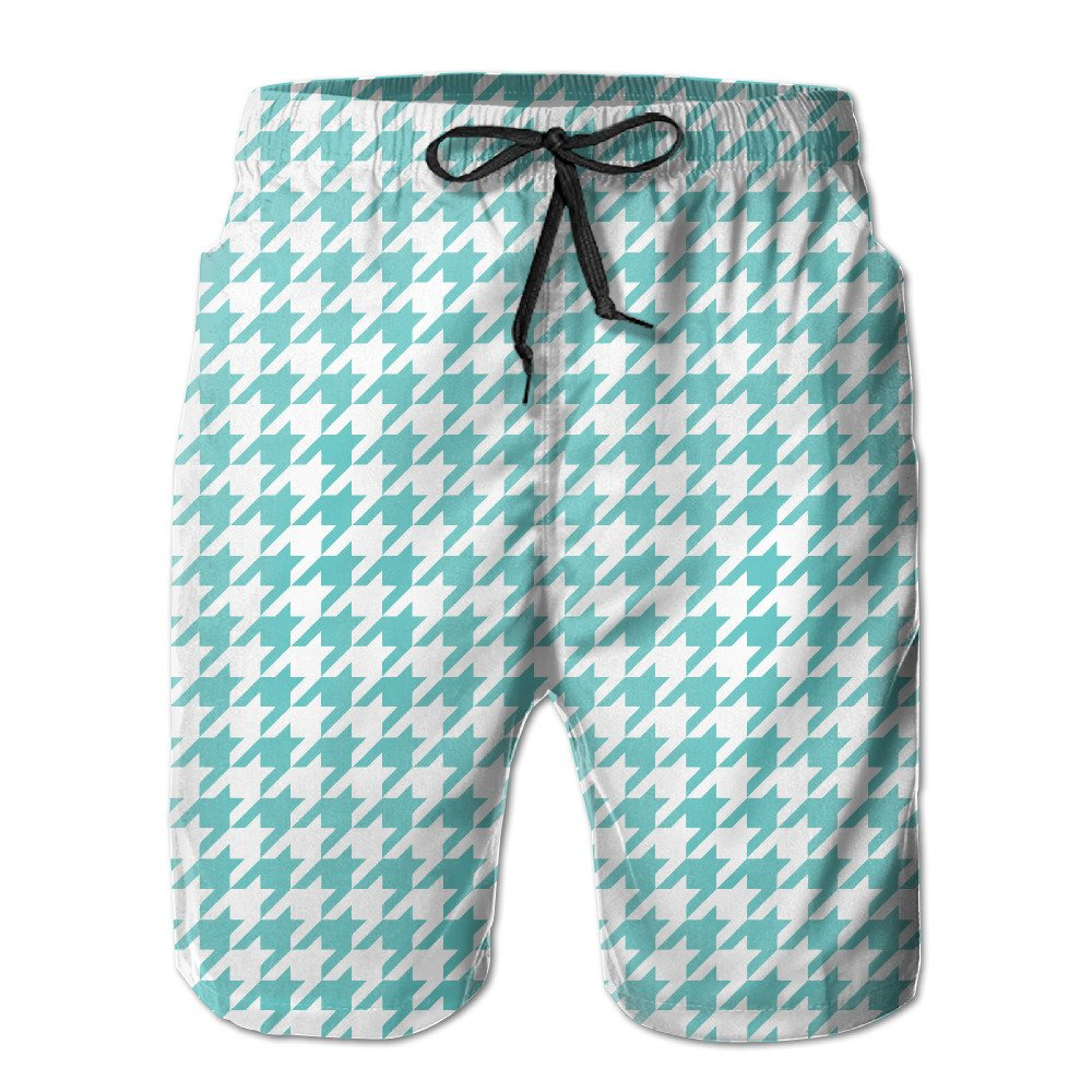 022bc797f0 60%OFF Bxse Beach Running Short Pants Houndstooth Wallpaper Quick-drying  Men's Shorts Hot