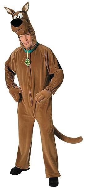 Scooby- DOO 16352 Rubies-official disfraz - Disfraz de traje de lujo - Talla de adulto M, MARRON