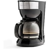 Taurus Capuleto - Cafetera de goteo, 1.5l, hasta 15 tazas, jarra cristal, antigoteo automático, placa calefactora mantén…