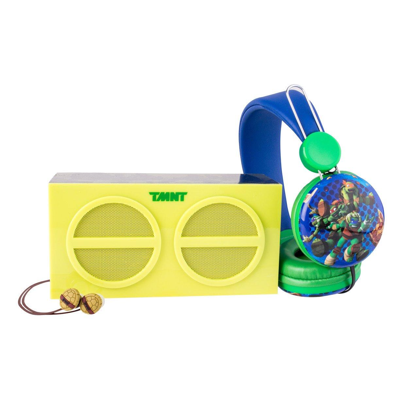 Teenage Mutant Ninja Turtles SH1-01065 3-in-1 Stereo Pack Earphones