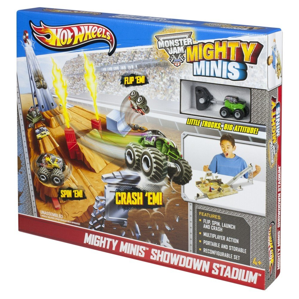 Hot Wheels Mighty Minis Showdown Stadium B00C6Q3RHO
