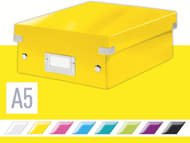 Small Yellow Click and Store Range 60570016 Leitz Organiser Box
