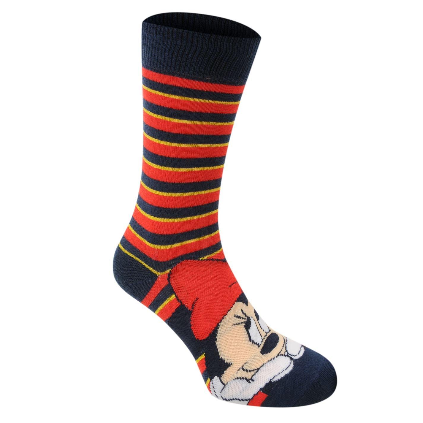 Disney da donna confezione da 3/calzini con polsini a coste strisce pois Minnie Mouse