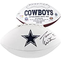 $195 » Jason Witten Dallas Cowboys Autographed White Panel Football - Fanatics Authentic Certified…