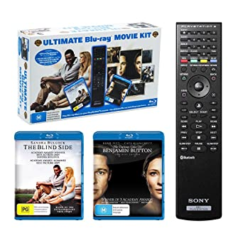 Blind Side / Curious Case Benjamin Button + Bonus PS3 Blu-ray Remote Control |