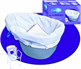NRS Healthcare CareBag Disposable Commode Potty Liner Bags, Biodegradable, Pack of 20 (Eligible for VAT Relief in The UK)