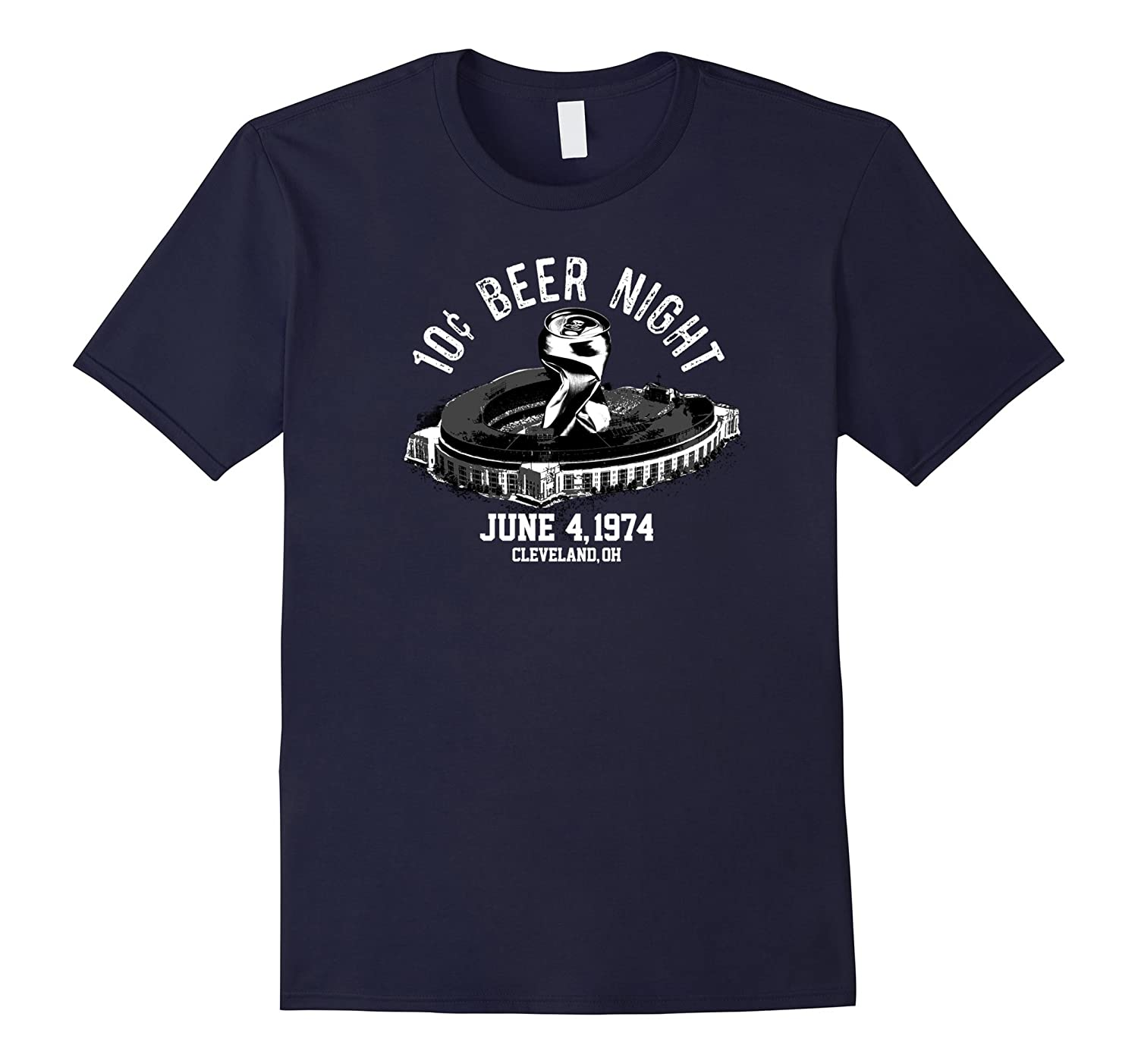 Ten Cent Beer Night Cleveland Baseball T-Shirt-BN