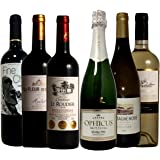 ワイン名産国周遊 産地と品種の飲み比べ ソムリエ厳選ワインセット 赤3本 白2本 スパークリング1本 750ml 6本