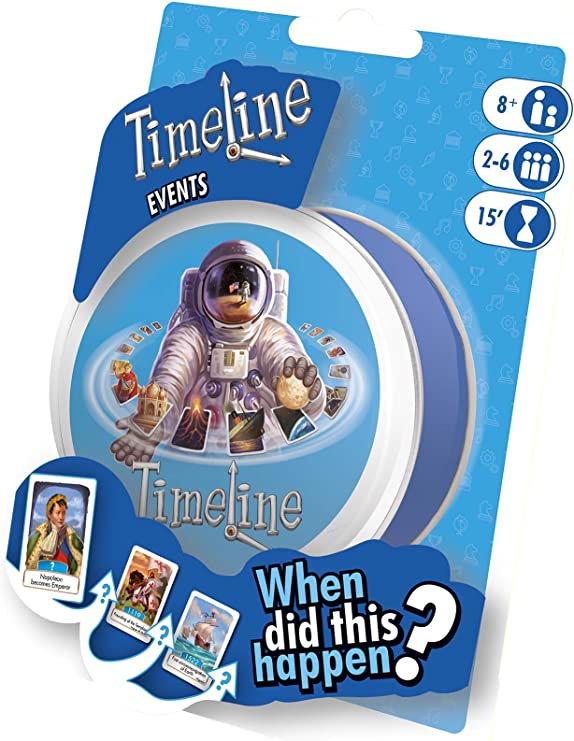 Asmodee ASMTL02EVEN Timeline - Blister de Eventos: Amazon.es ...