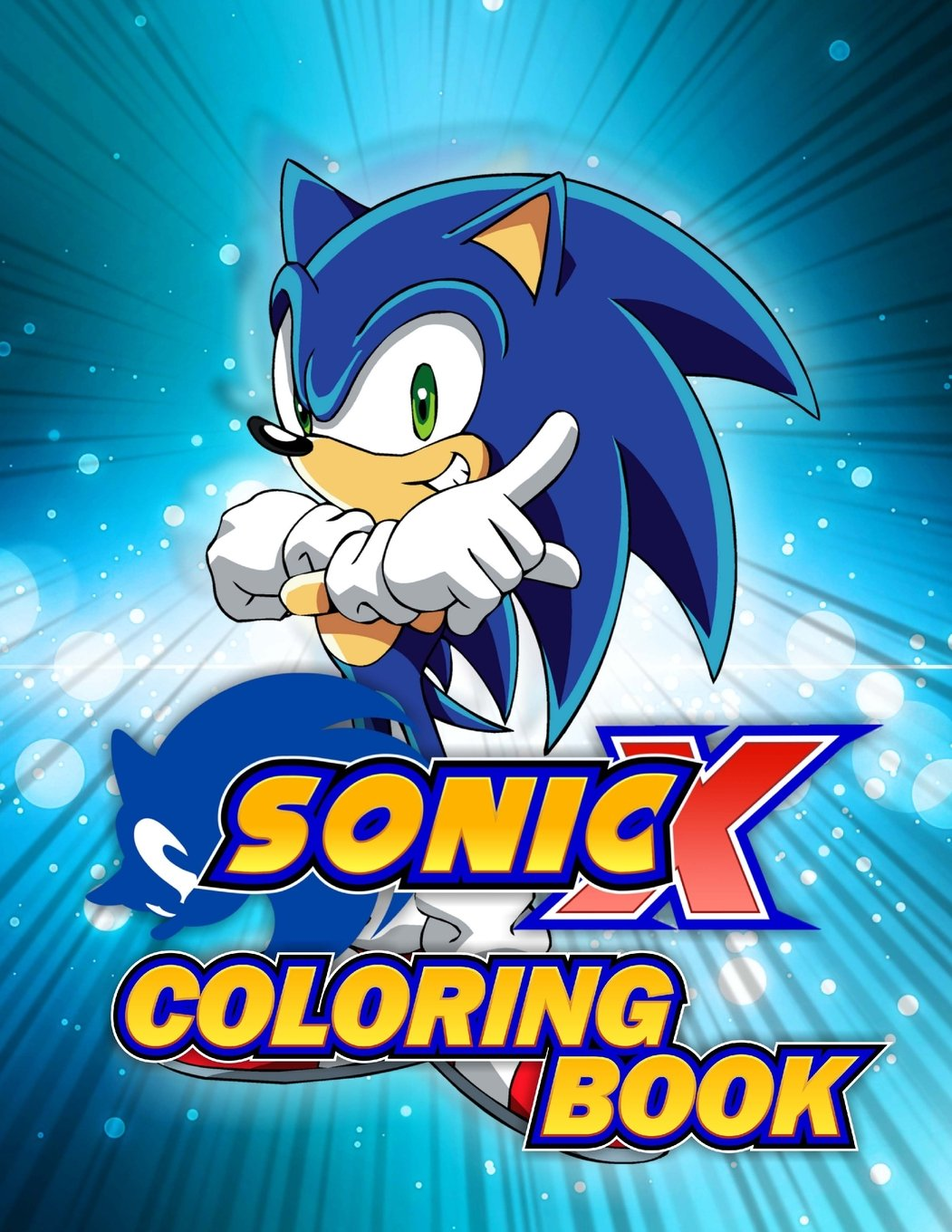 Sonic Coloring Book: Great Activity Book for Kids: Amazon.de ...