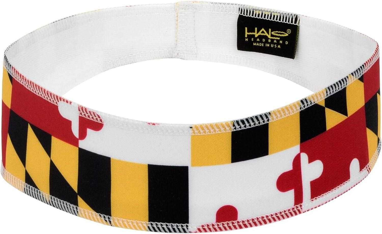 Halo Headband Halo II Sweatband Pullover, Maryland Flag