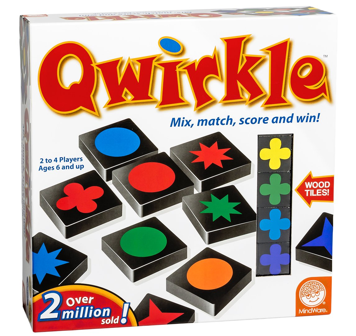 Amazon.com: MindWare Qwirkle Board Game: Mindware: Toys & Games