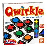 MindWare Qwirkle Educational Game Mix, Match, Score, and Win – 2 to 4 Players Ages 6+